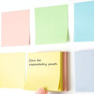 Notas Adhesivas De 3 Colores Pastel