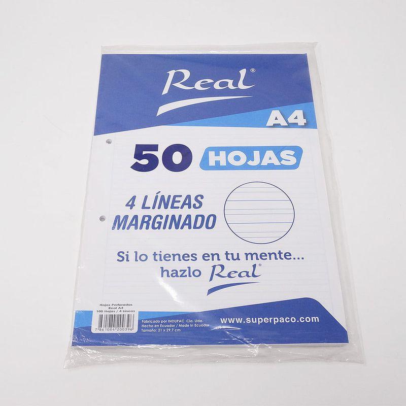 Papel-Marginado-4-Lineas-A5-50H