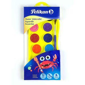 Acuarela 12 Colores Junior con pincel