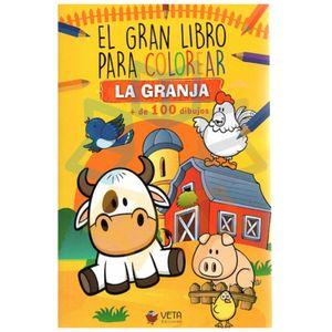 El gran libro para colorear la granja