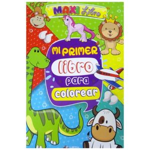 Maxi libro mi primer libro para colorear
