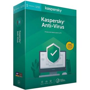 Antivirus - KASPERSKY - Kav 1 Máquina