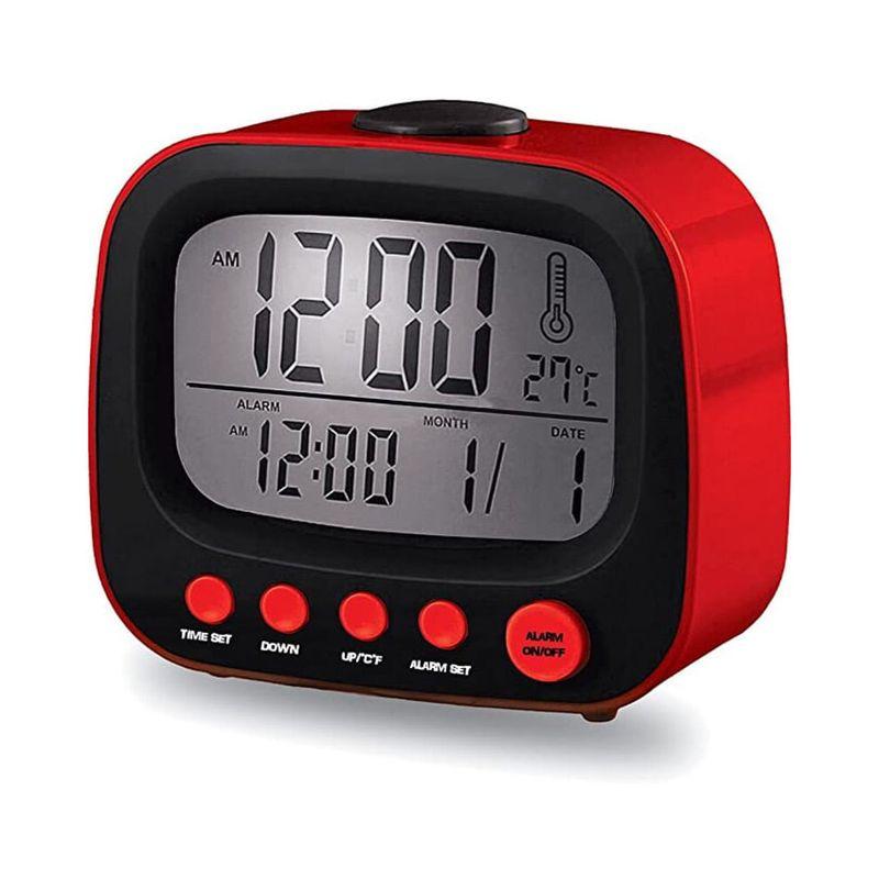 Reloj-Despertador---CBC-52---Rojo