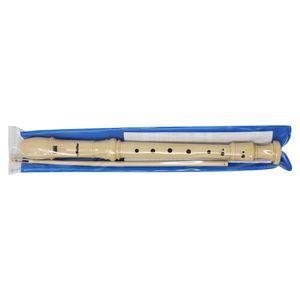 Flauta escolar con estuche plástico c/broche