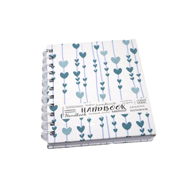 Libreta-espiral--2-A6-100hjs-cuadros-pasta-dura-Handbook