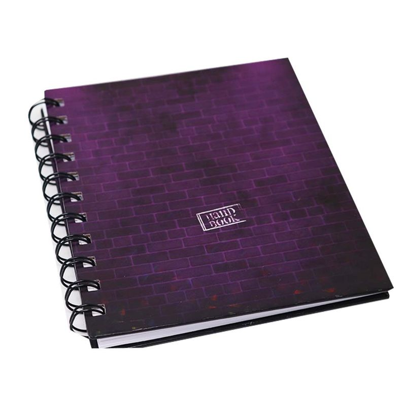 Libreta-espiral--2-A6-100hjs-sin-rayado-pasta-dura-Handbook