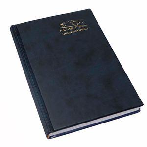 Cuaderno ejecutivo A5 160hjs cuadros hojas de colores