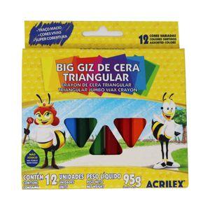 Crayones colores largos triangulares jgox12un