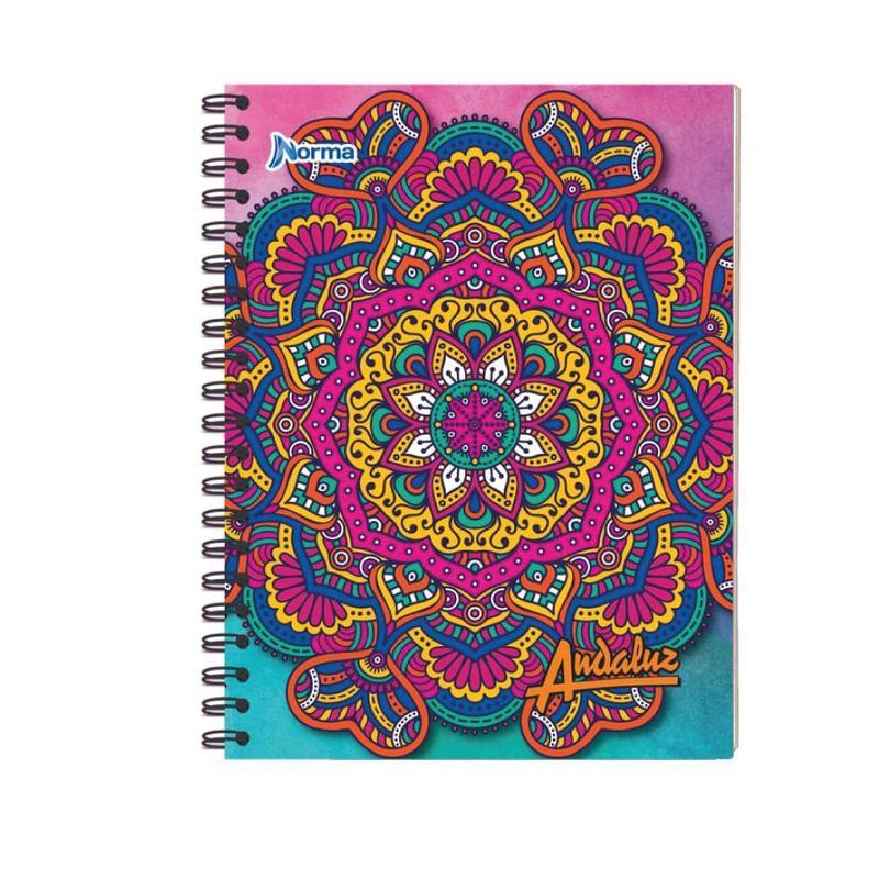 Cuaderno-espiral-A4-100hjs-1-linea-parvulario-economico-Andaluz