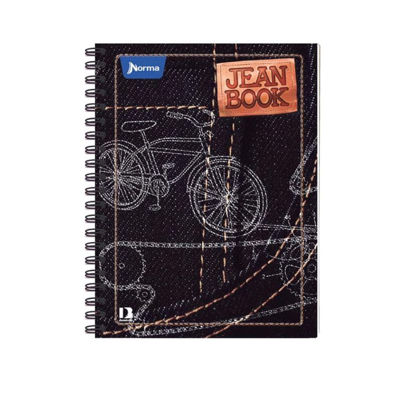 Cuaderno-espiral-A4-100hjs-cuadros-pasta-dura-Jean-Book-Revollution