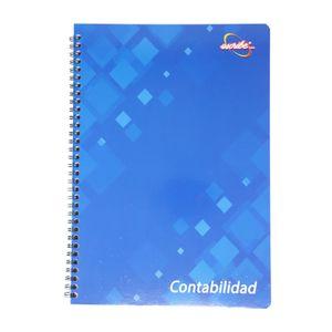 Cuaderno espiral A4 50hjs 3 columnas contabilidad order book
