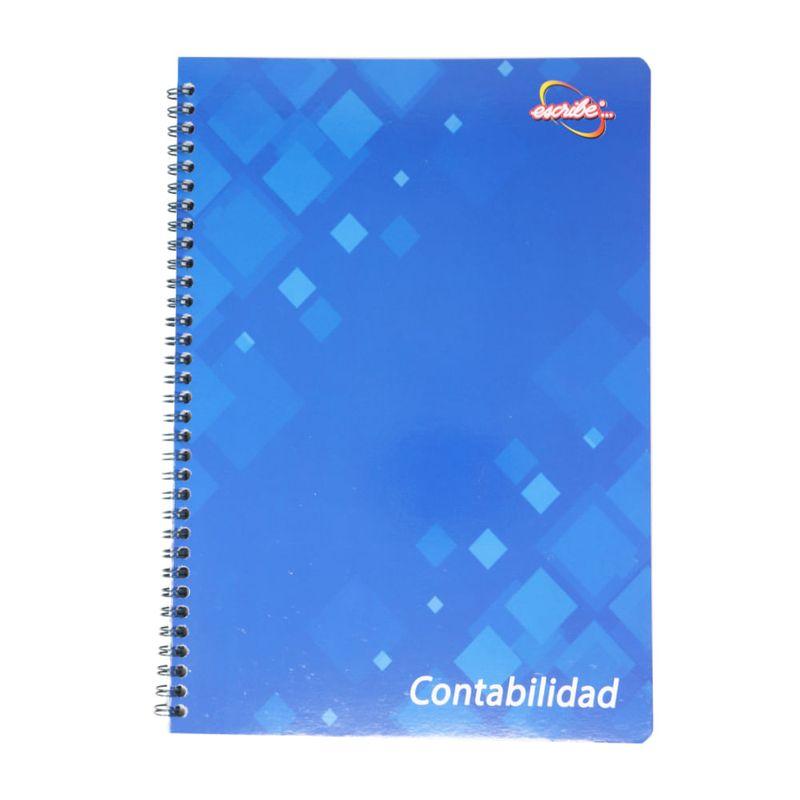 Cuaderno-espiral-A4-50hjs-3-columnas-contabilidad-order-book