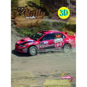 Cuaderno espiral A4 100hjs cuadros Rally