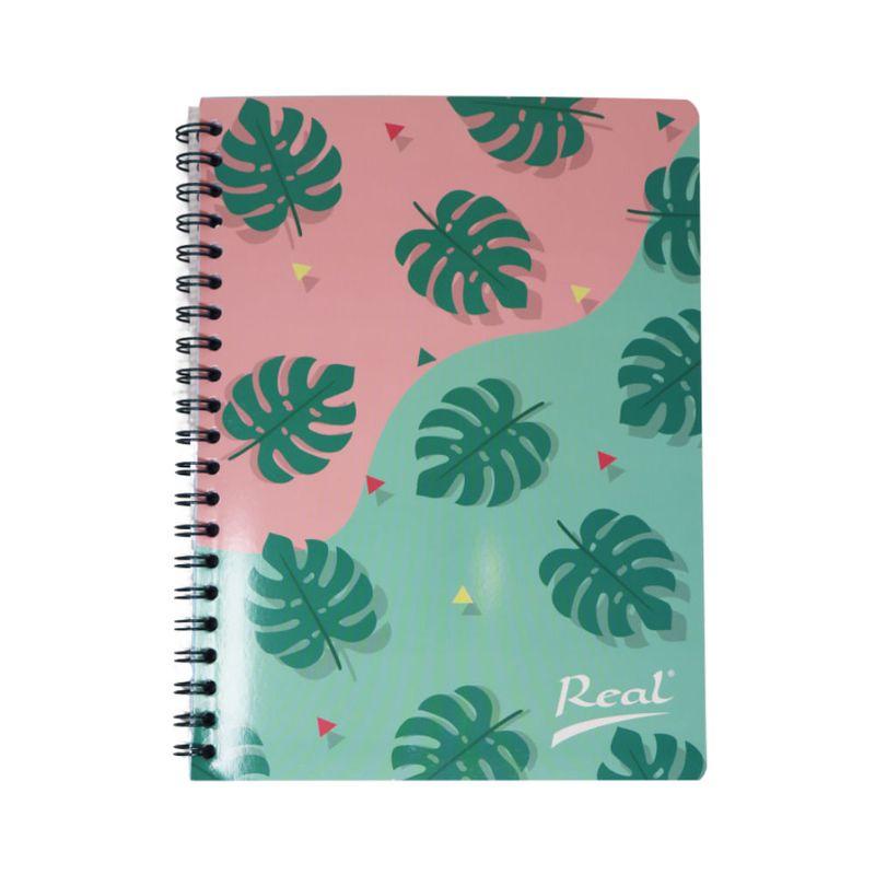 Cuaderno-espiral-A4-100hjs-cuadros-economico-Hojas