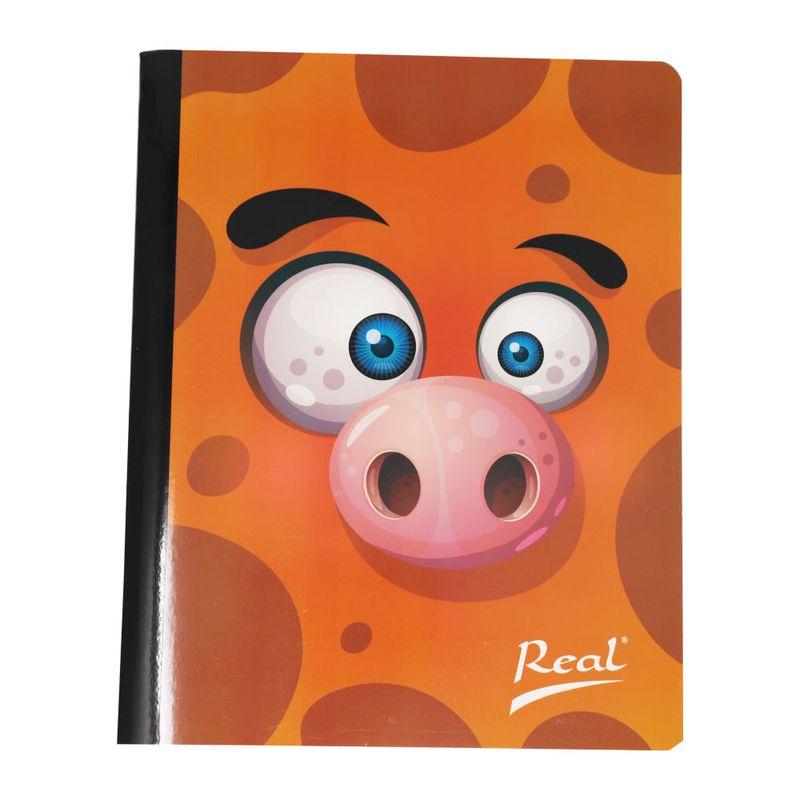 Cuaderno-cosido-100hjs-cuadros-economico-Monstruo-naranja