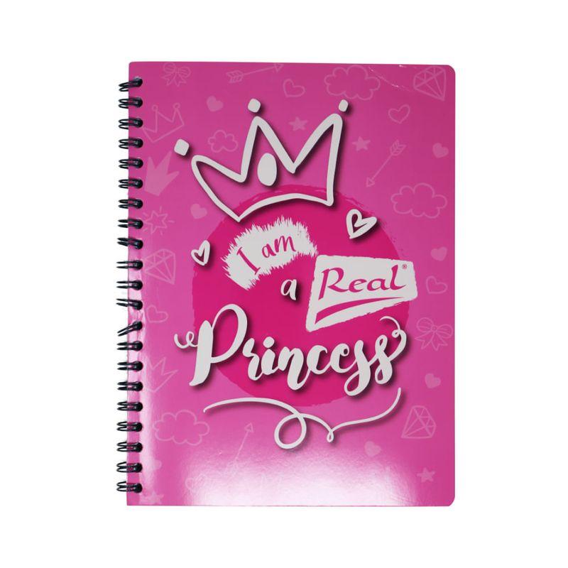 Cuaderno-espiral-A5-100hjs-cuadros-economico-Princesa-Rosa