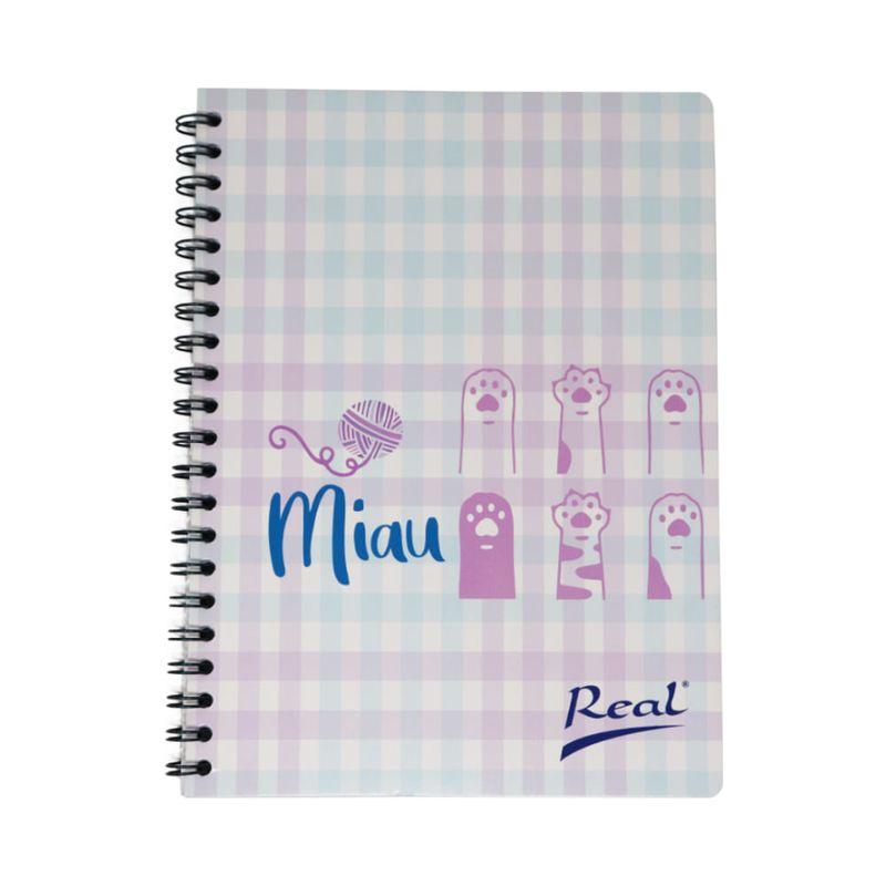 Cuaderno-espiral-A4-60hjs-cuadros-economico-Miau