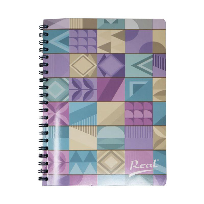 Cuaderno-espiral-A4-100hjs-1-linea-economico-Mosaico-pastel