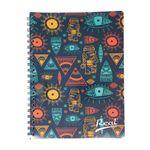 Cuaderno-espiral-A4-100hjs-cuadros-economico-Mosaico-azul
