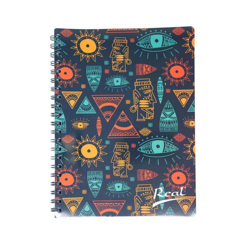 Cuaderno-espiral-A4-100hjs-1-linea-economico-Mosaico-azul