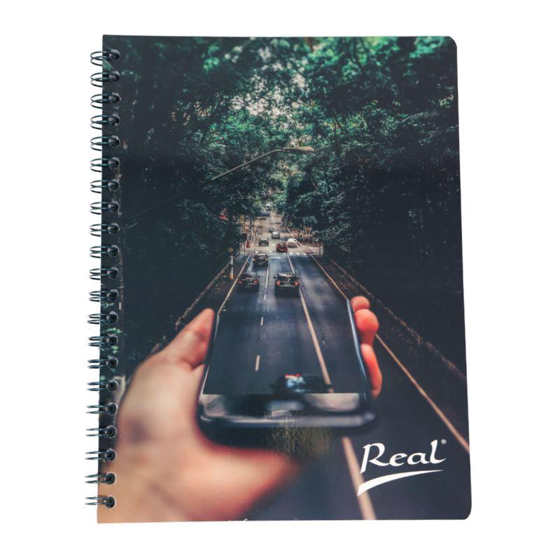 Cuaderno-espiral-A4-100hjs-cuadros-economico-Bosque-celular