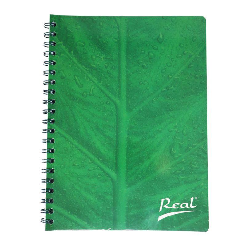 Cuaderno-espiral-A4-100hjs-cuadros-economico-Hoja-verde