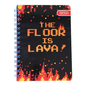 Cuaderno espiral A5 100hjs 1 línea económico Estilo