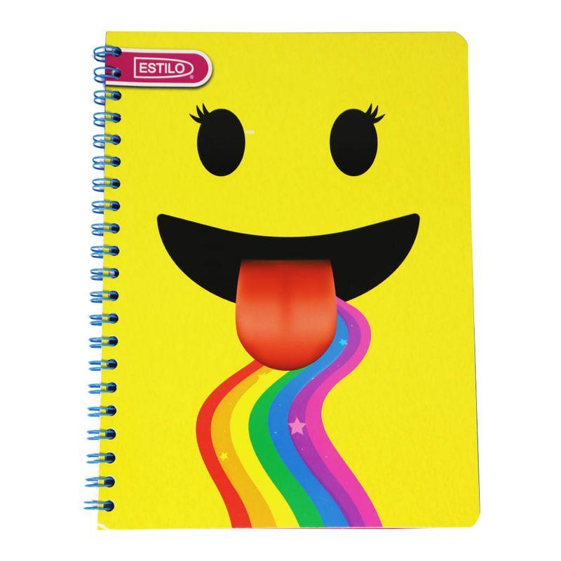 Cuaderno-espiral-A4-100hjs-2-lineas-economico-Estilo