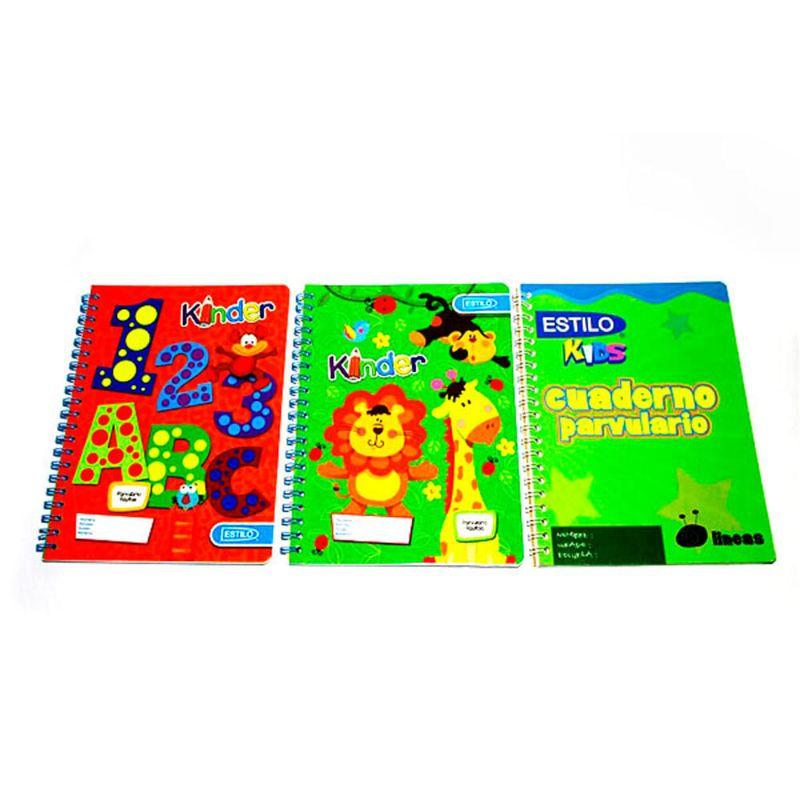 Cuaderno-espiral-A4-100hjs-1-linea-parvulario-economico-Estilo