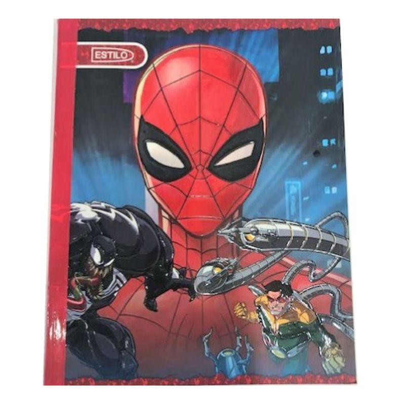 Cuaderno-cosido-100hjs-4-lineas-Spiderman