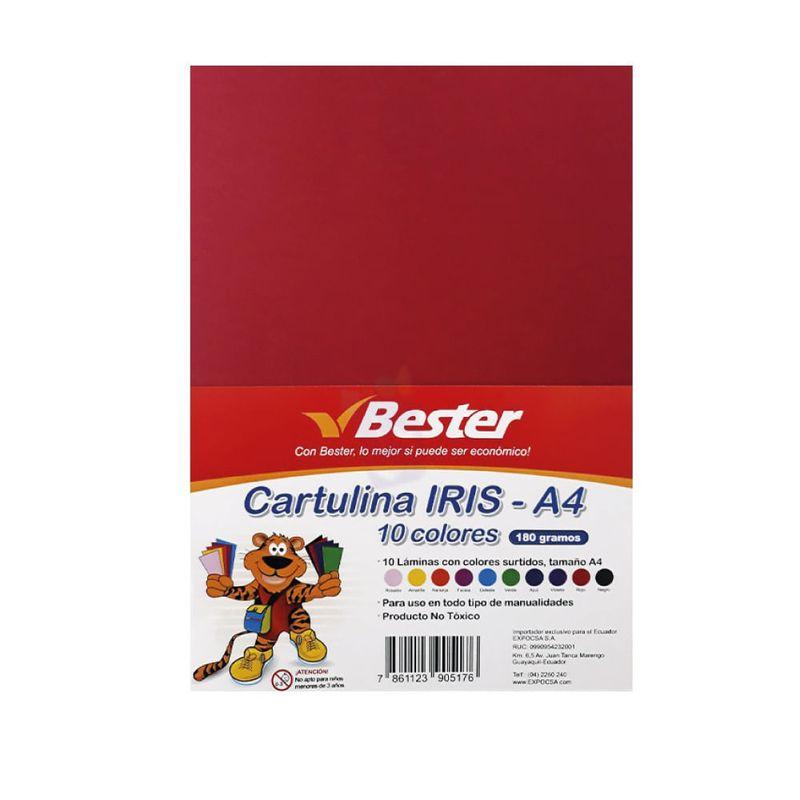 Cartulina-Iris-A4