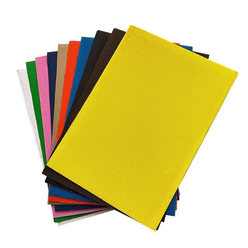 Carton-Corrugado-Ondulado-A4