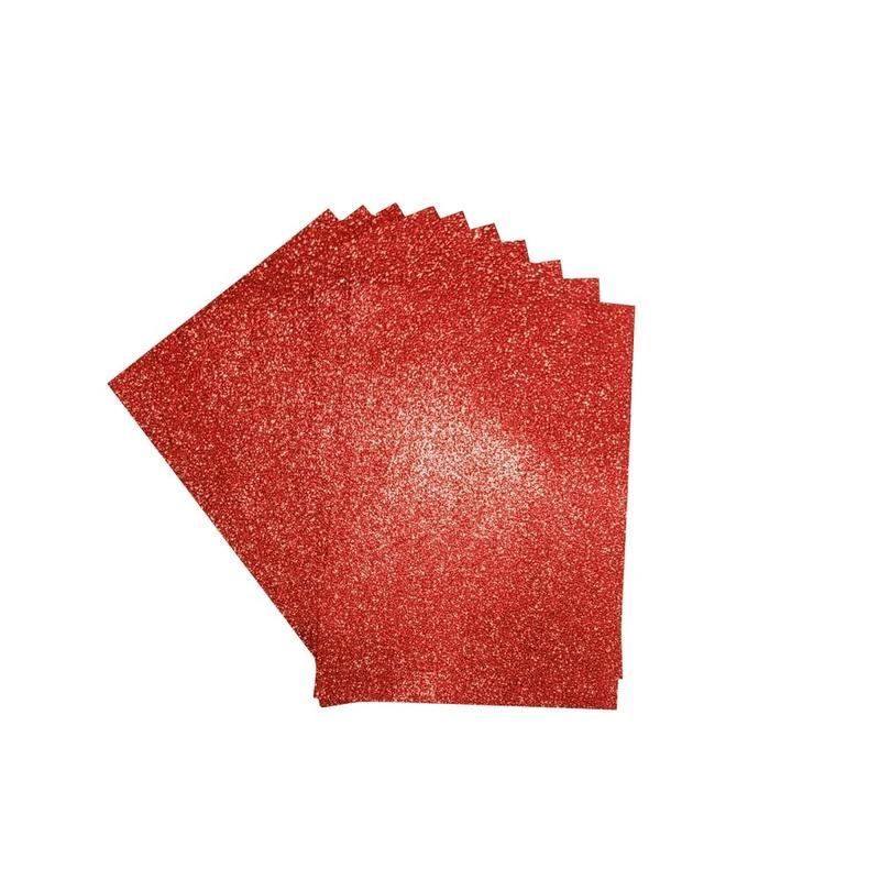 Foamy-Escarchado-A4-Rojo
