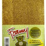 Foamy-Escarchado-A4-Dorado