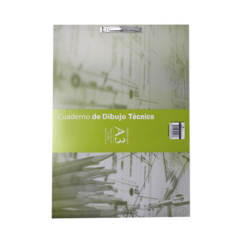 Cuaderno-con-vincha-A3-20hojas-sin-margen-de-dibujo-economico
