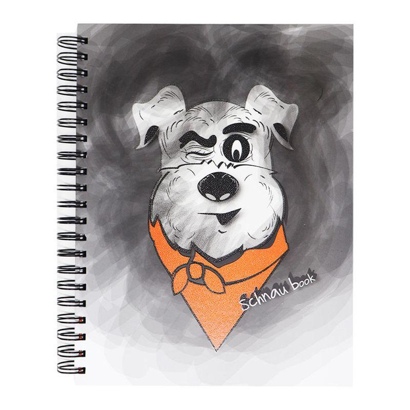 Cuaderno-espiral-A4-200hjs-cuadros-pasta-dura-Schnau-Book