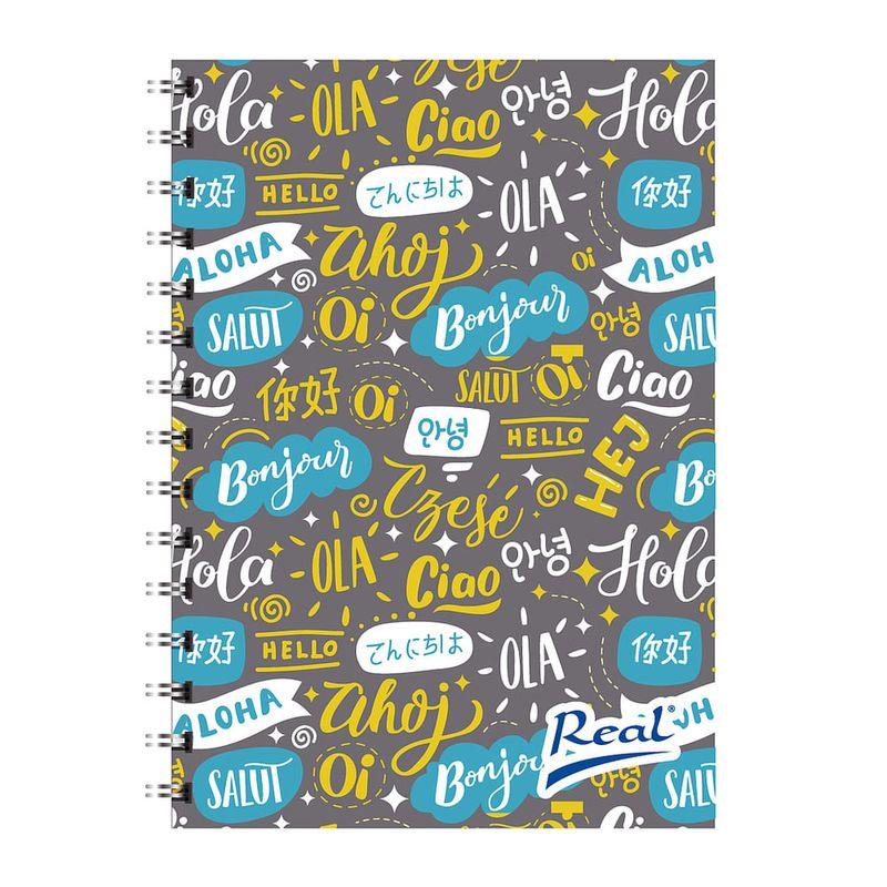 Cuaderno-espiral-A4-100hjs-1-linea-pasta-dura-Hola