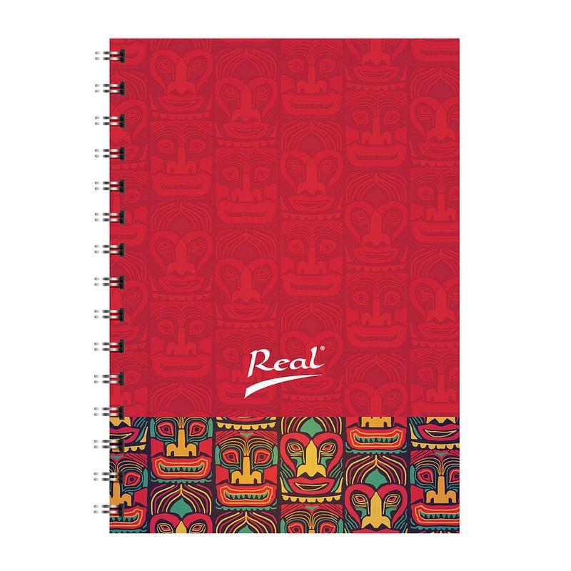 Cuaderno-espiral-A4-100hjs-cuadros-pasta-dura-Totem