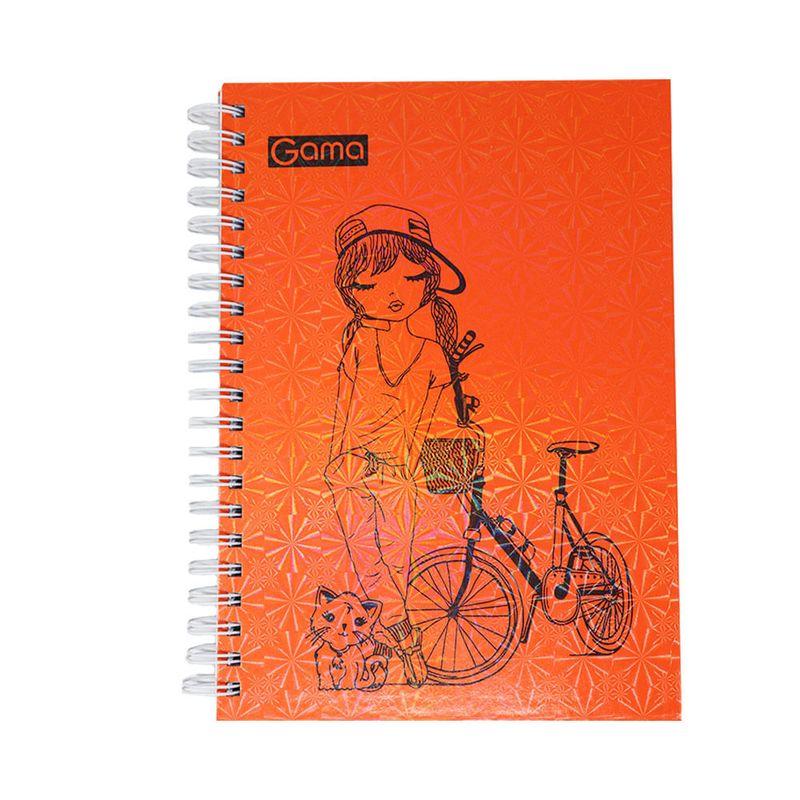 Cuaderno-espiral-A4-200hjs-cuadros-pasta-dura-diseños-femeninos