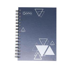 Cuaderno espiral A5 200hjs cuadros pasta dura género masculino