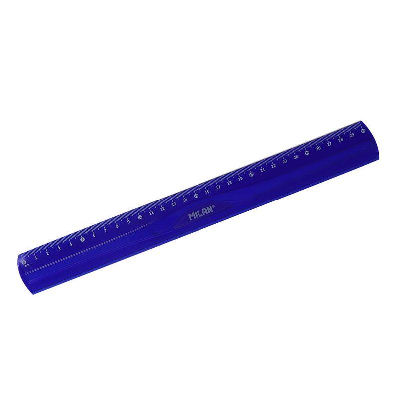 Regla-plastica-30cm-flexible-azul