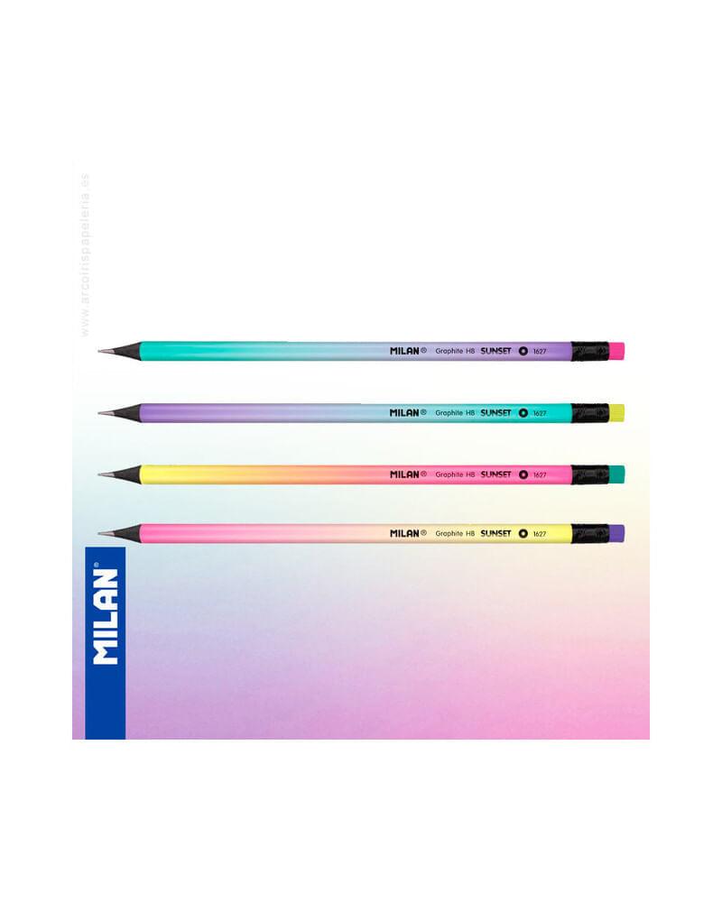 Lapiz-grafito-HB-con-borrador-Sunset