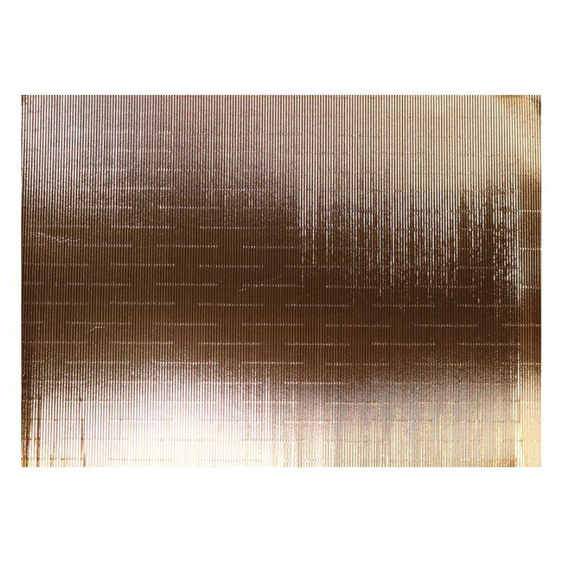 Carton-Corrugado-Ondulado-Metalizado-Dorado