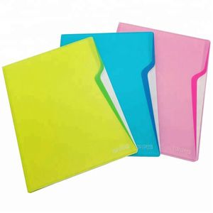 Folder Plástico A4 con Perfil
