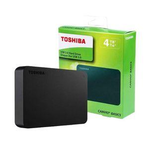 Disco Duro 4TB - TOSHIBA - Canvio Basic - Externo