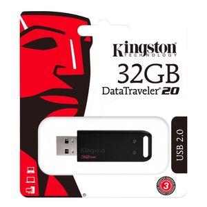 Jet Flash 32GB - KINGSTON - Datatraveler DT20