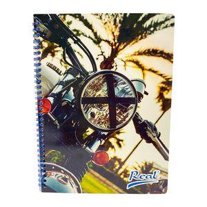 Cuaderno espiral A4 60hjs cuadros económico Hombre