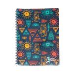 Cuaderno-espiral-A4-60hjs-cuadros-economico-Mosaico-azul