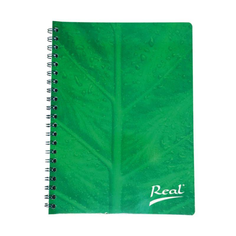 Cuaderno-espiral-A5-60hjs-cuadros-economico-Hoja-verde