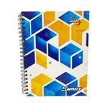 Cuaderno-espiral-A4-180hjs-cuadros-pasta-dura-Smart